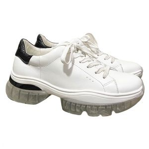 Kurt Geiger Air Bubble Sole Chunky Sneaker Leather